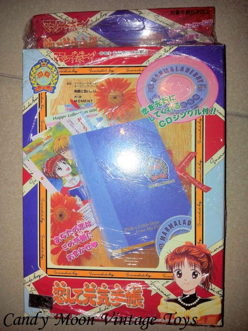 [VENDO] Marmalade Boy\Piccoli problemi di cuore Bandai 1994 diario vintage Bandai 111