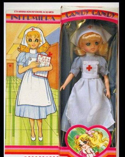 BAMBOLA - [VENDO] Candy Candy infermiera bambola Polistil 1981 11162410