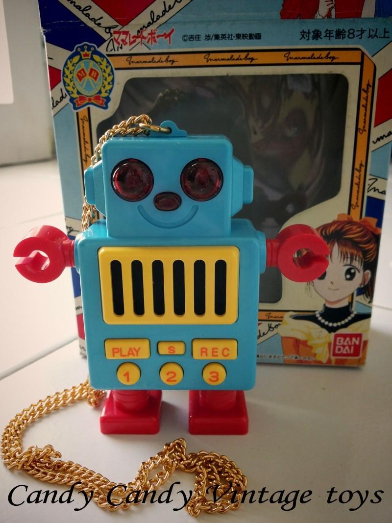 SCAMBIO o VENDITA Marmalade boy Piccoli problemi di cuore Bandai 1995 robot registratore RARO 20141110