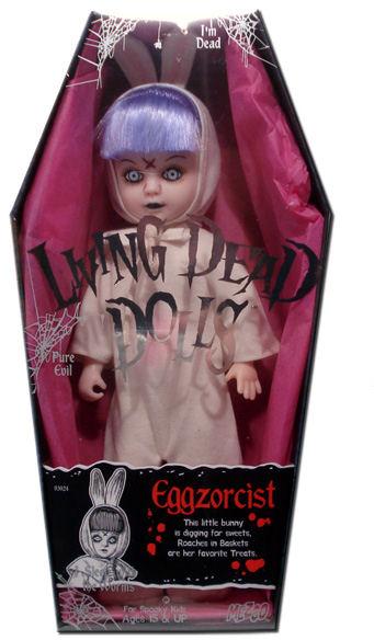 "[VENDO] Living Dead Dolls serie 1° ""EGGZORCIST""  RARISSIMA Mez-ld10"