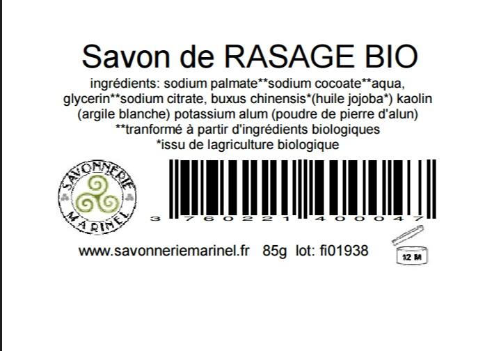 savon à raser de la savonnerie Marinel Screen11