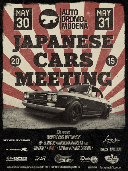 Japanese Cars Meeting Locand11
