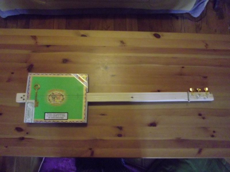 Diy cigar box guitare et lapsteel pour les nuls page 2 - Diy pour les nuls ...