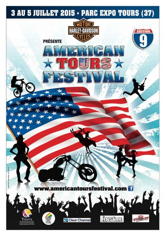 AMERICAN TOUR FESTIVAL du 03 juillet au 05 Juillet Aff15710