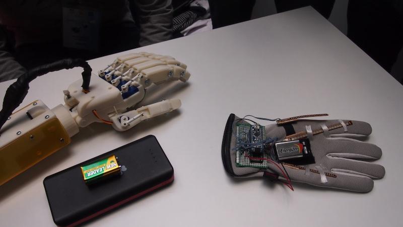 Projet de prothèse de main Olympi11