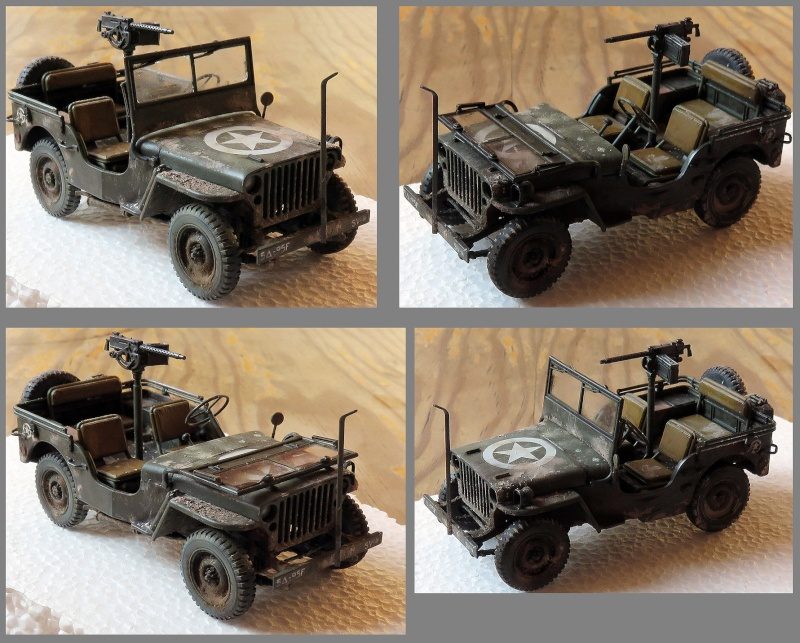 Jeep Willys MB  1/35 - Tamiya 15042812