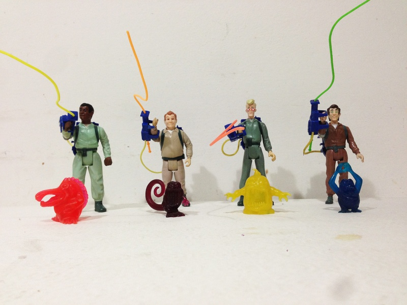 Real Ghostbusters Kenner Ecto 1 e 4 protagonisti completi Img_2810