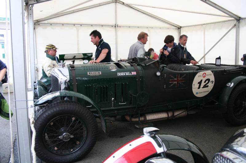 Bentley Blower  24 heures du Mans  Juille10
