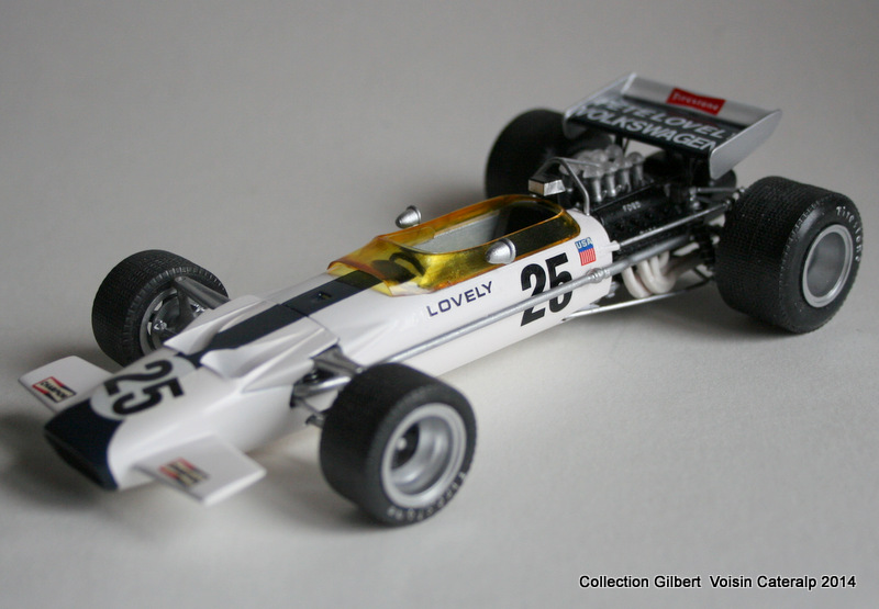 Lotus 49 formule 1 Pete Lovely GP de France 1970 Lotus_11