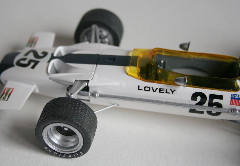 Lotus 49 formule 1 Pete Lovely GP de France 1970 Lotus_13