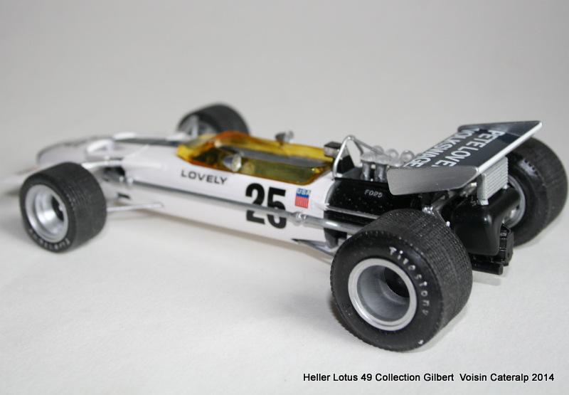 Lotus 49 formule 1 Pete Lovely GP de France 1970 Lotus_19