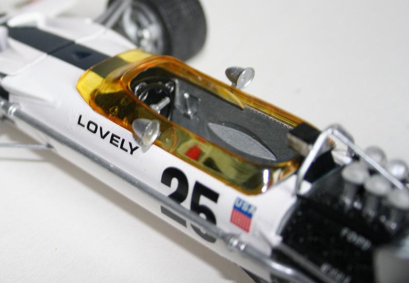 Lotus 49 formule 1 Pete Lovely GP de France 1970 Lotus_21