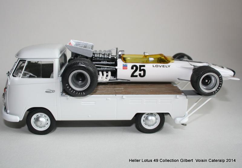 Lotus 49 formule 1 Pete Lovely GP de France 1970 Lotus_23