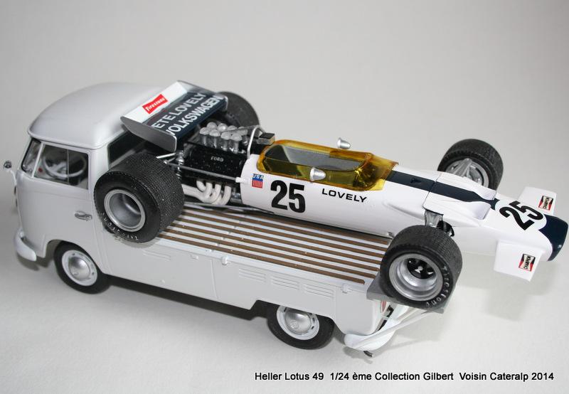 Lotus 49 formule 1 Pete Lovely GP de France 1970 Lotus_24