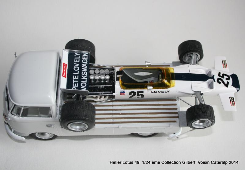 Lotus 49 formule 1 Pete Lovely GP de France 1970 Lotus_25