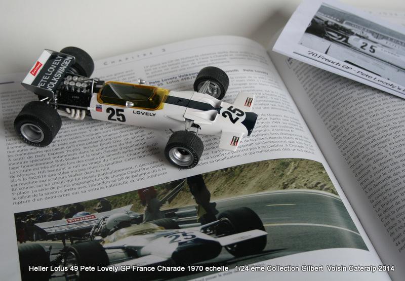 Lotus 49 formule 1 Pete Lovely GP de France 1970 Lotus_26