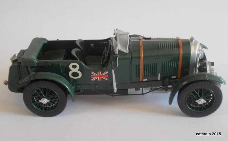 Bentley Blower  24 heures du Mans  Maquet80