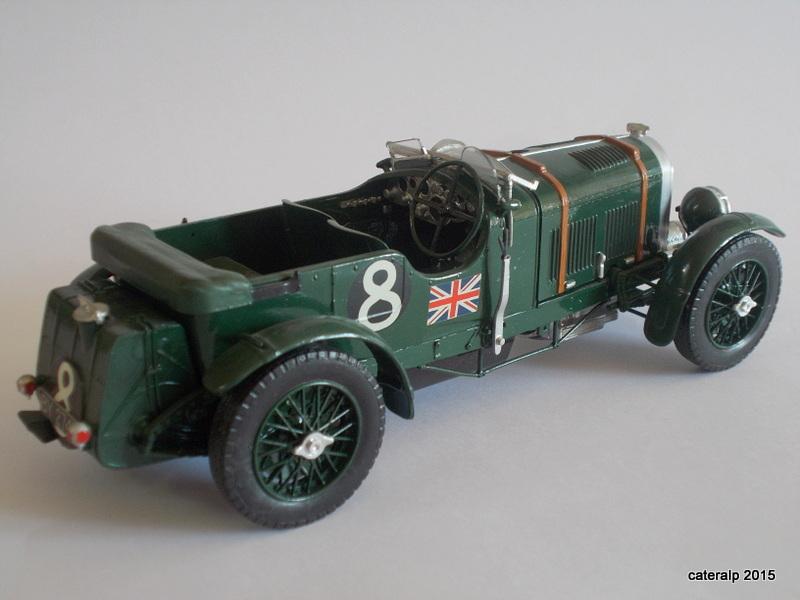 Bentley Blower  24 heures du Mans  Maquet81