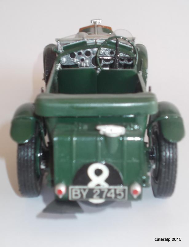Bentley Blower  24 heures du Mans  Maquet82