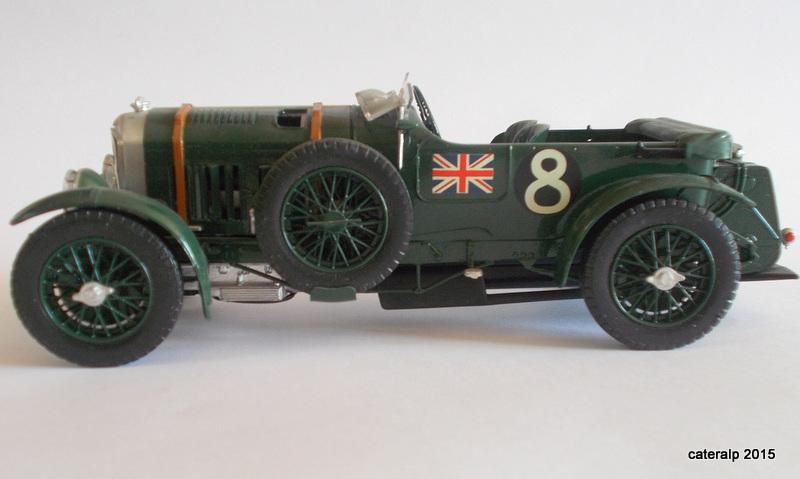 Bentley Blower  24 heures du Mans  Maquet83