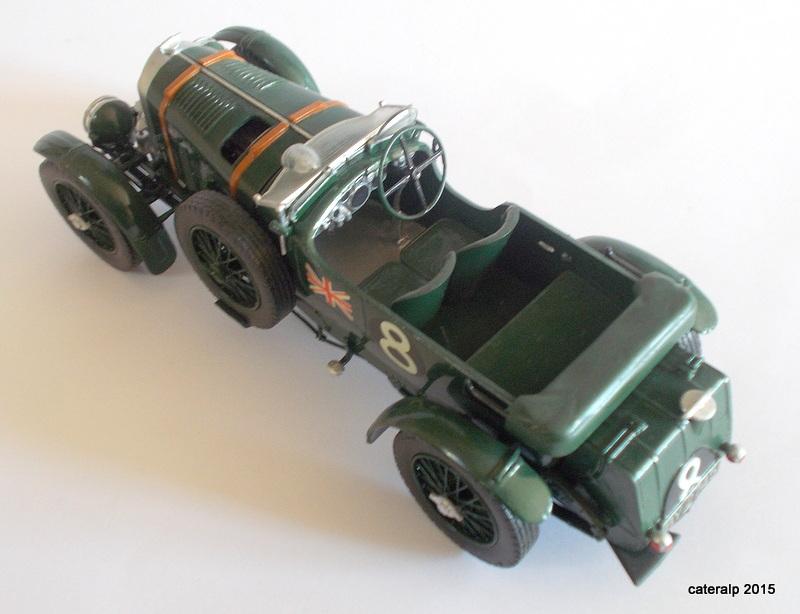 Bentley Blower  24 heures du Mans  Maquet84
