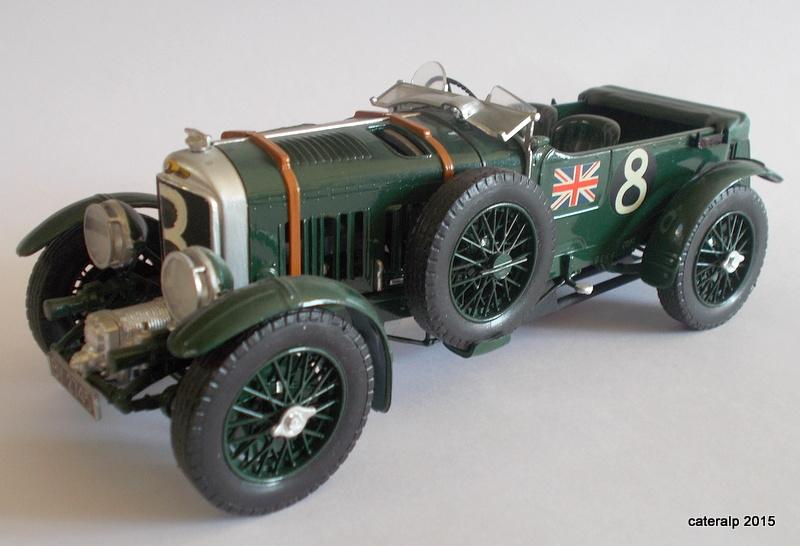 Bentley Blower  24 heures du Mans  Maquet85