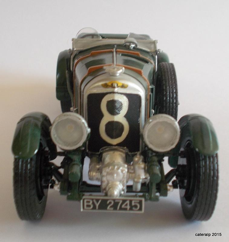 Bentley Blower  24 heures du Mans  Maquet86