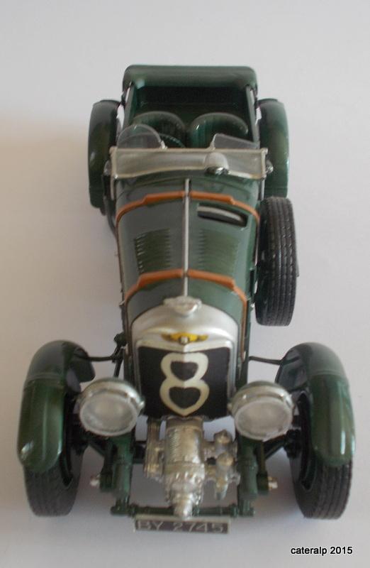 Bentley Blower  24 heures du Mans  Maquet87