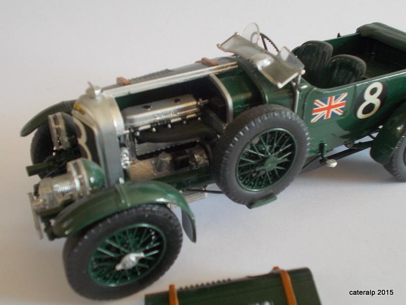 Bentley Blower  24 heures du Mans  Maquet88