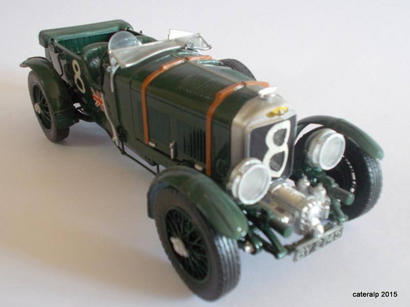 Bentley Blower  24 heures du Mans  Maquet89