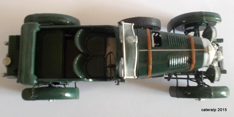 Bentley Blower  24 heures du Mans  Maquet90