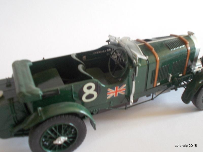 Bentley Blower  24 heures du Mans  Maquet91