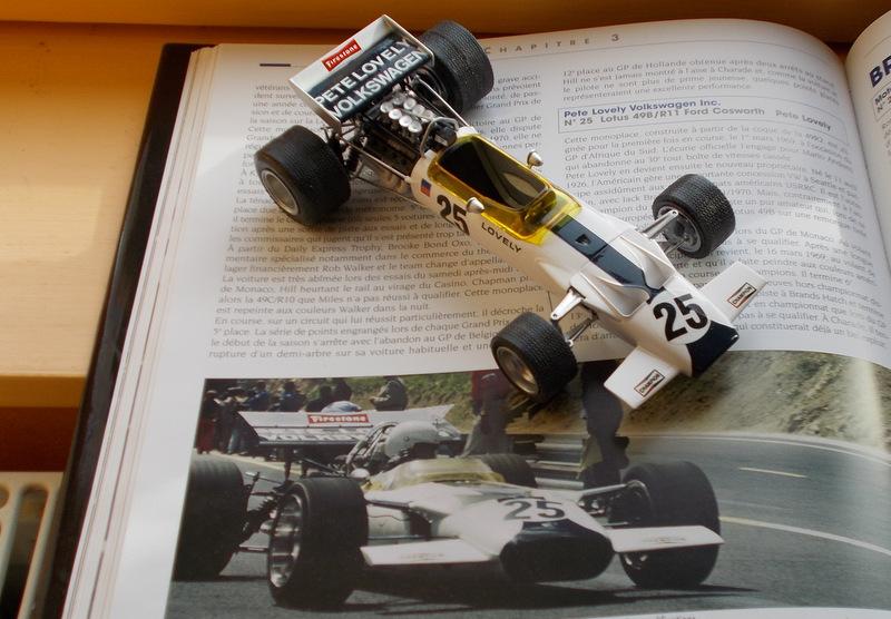 Lotus 49 formule 1 Pete Lovely GP de France 1970 Samedi11