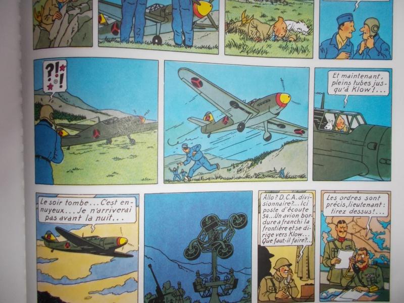 MESSERSCHMITT BF 109 B & G du Sceptre d'Ottokar Tintin10