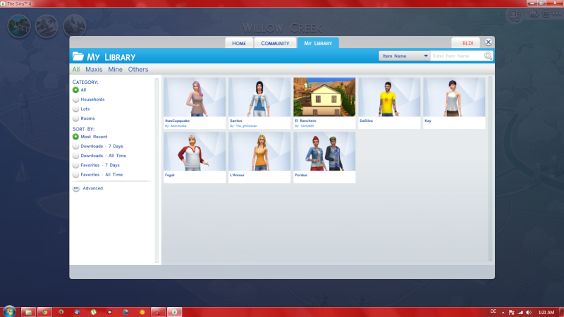 How to install custom content in TS4: .package files, script mods, custom sims & lots. [UPDATED ON 21-03-2015] Screen11