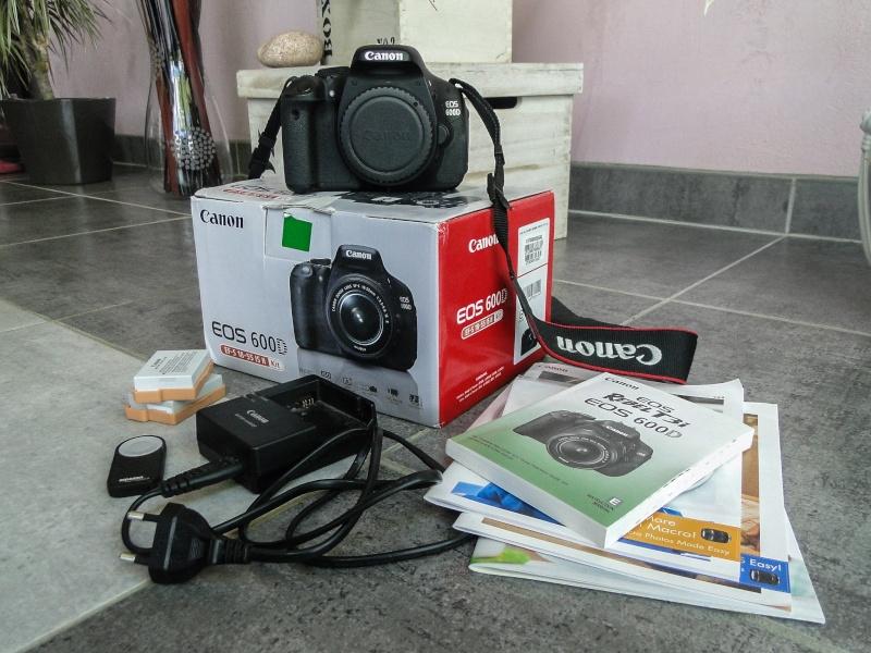 Canon 600D (Boitier Nu) // 370 euros 24052010