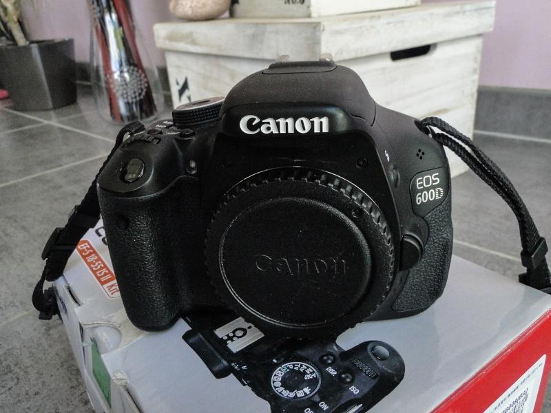 Canon 600D (Boitier Nu) // 370 euros 24052013