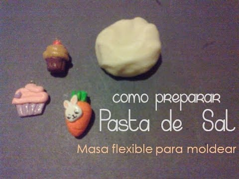 Pasta de sal | Masa flexible para moldear (video) Hqdefa10