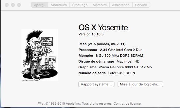 LOGO Yosemite A propos de ce Mac Sans_t18