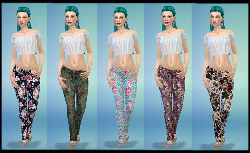 Floral Pants, Animal Print Pants and Galaxy Pants by Tacha75 2v1rvu11