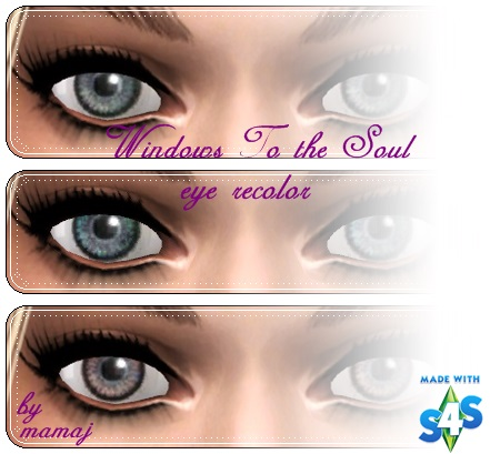 Windows To the Soul eye recolor by mamaj Window11