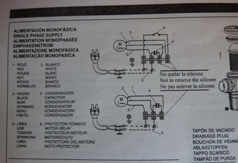 DEMANDE CONSEIL BRANCHEMENT ELECTRIQUE POMPE P1120711