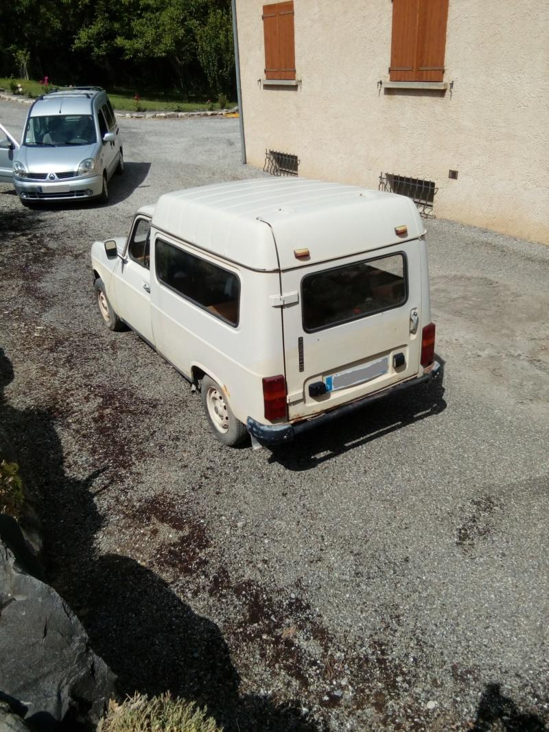 Estimation Renault 4L. 110