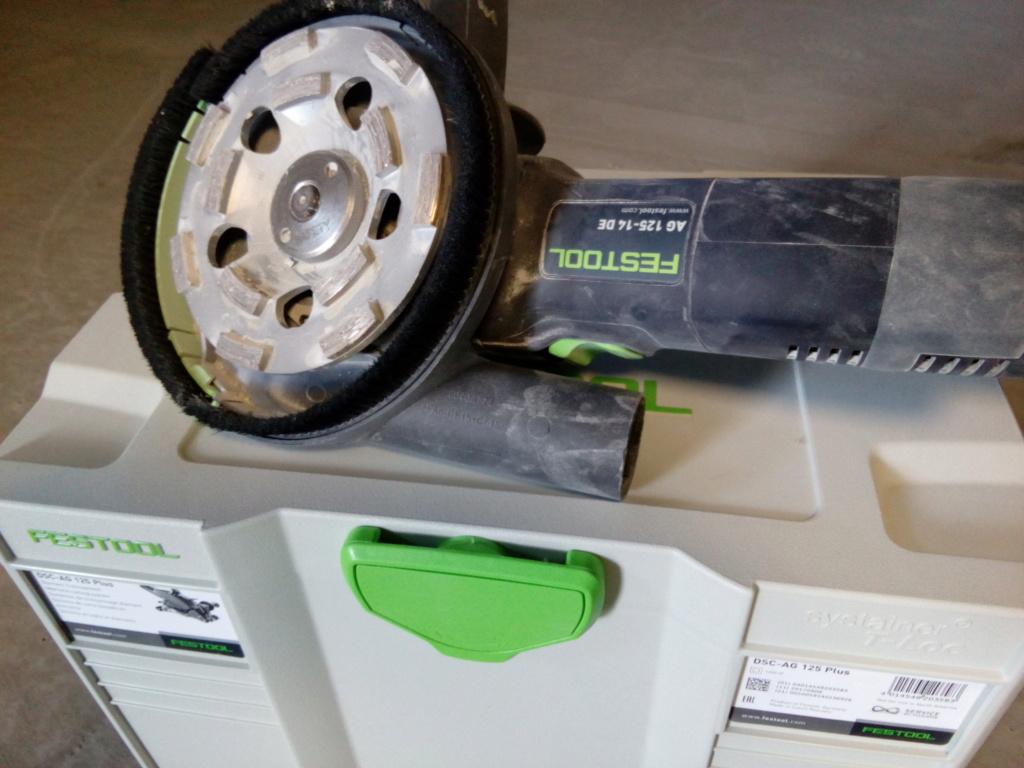 Retour utilisation sur disqueuse/ponceuse Festool DSC AG 125. Img_2010