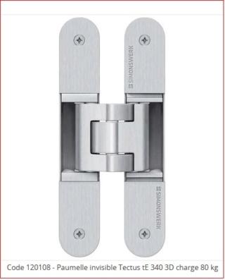 Projet et réalisation d'une double porte-battante thermique. Tectus10