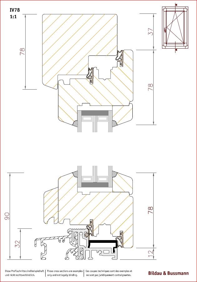 Projet et réalisation d'une double porte-battante thermique. Versio11
