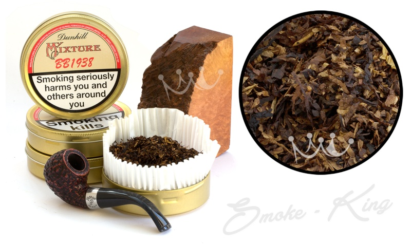 Dunhill BB (Baby's Bottom) 1938 My Mixture Pipe Tobacco  Big-du10