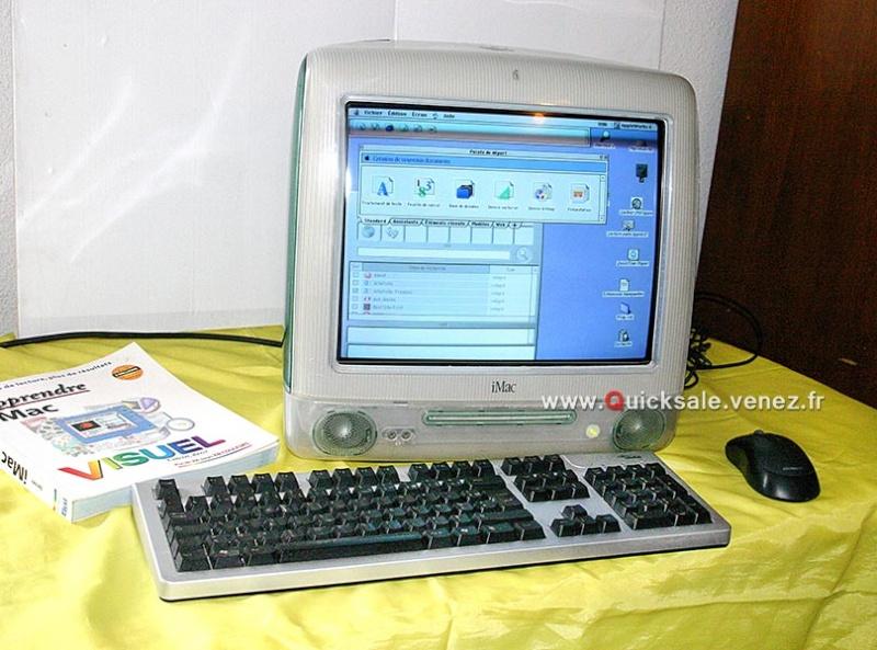 [VENDU] Apple iMac G3, Système Mac OS 9.2  160€ A10