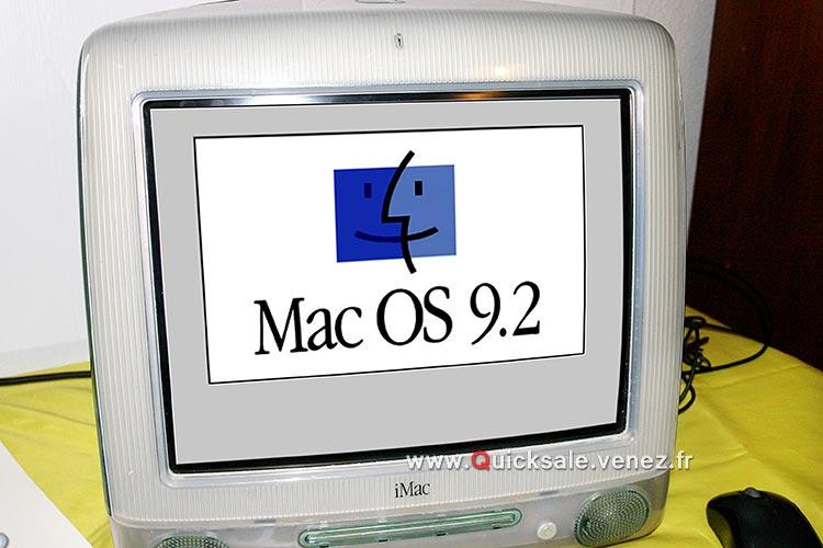 [VENDU] Apple iMac G3, Système Mac OS 9.2  160€ B11