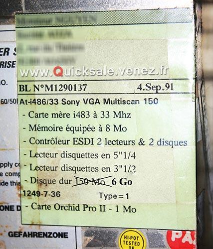 [VENDU] Tour TMC i486/33 de 1991 avec Windows 3.11  100€ Tmc-i413